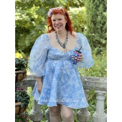 dress The Princess Baby Blue Toile Selkie - 1
