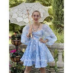 dress Princess Baby Blue Toile