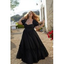 robe Ritz Gown Caviar Selkie - 1