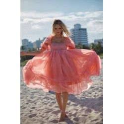 robe French Puff Cosmo Selkie - 1