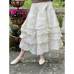 skirt / petticoat 22126 Bone white hard voile Ewa i Walla - 1