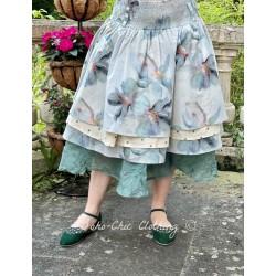 skirt 22112 Flower cotton grey Ewa i Walla - 1