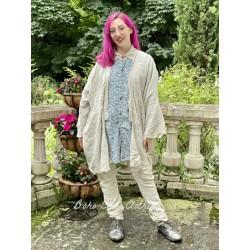 veste kimono Cleo in Moonlight Magnolia Pearl - 1