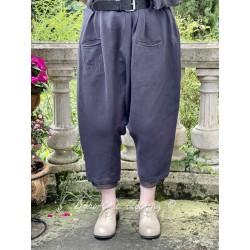 pants 11369 Vintage black hemp
