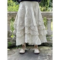 skirt / petticoat 22126 Khaki hard voile