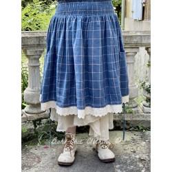 skirt 22113 Checked linen