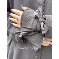 cuffs 77518 Vintage black shirt cotton