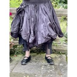 skirt / petticoat 22129 Vintage black organdie Ewa i Walla - 1