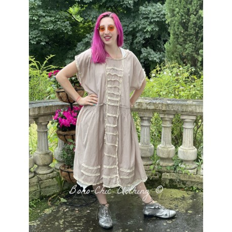robe Maja in Tory Dot Magnolia Pearl - 1