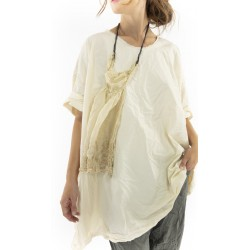 blouse Zola in Natural