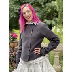 jacket 66354 Vintage black hemp