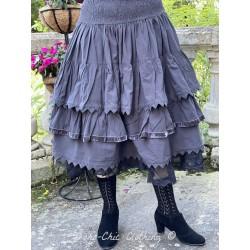 jupe 22122 coton Vintage black Ewa i Walla - 1