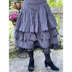 skirt 22122 Vintage black shirt cotton