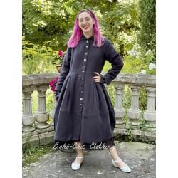 veste longue 66355 chanvre Vintage black