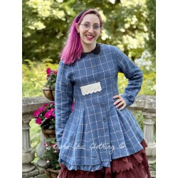 jacket 66353 Checked linen