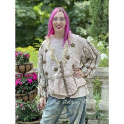 jacket Quilted Monique in Peony