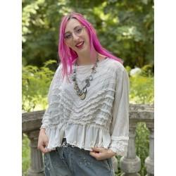blouse Anna Mariah in Moonlight Magnolia Pearl - 1