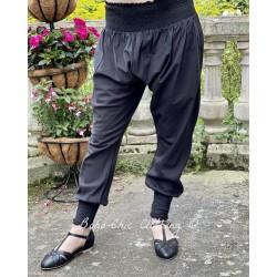 panty FANFAN voile de coton rayé noir