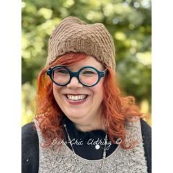 bonnet VICTORIA laine marron glacé Les Ours - 1