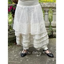skirt / petticoat MADOU ecru organza Les Ours - 1