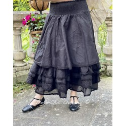 skirt / petticoat MADOU black organza Les Ours - 1