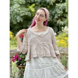 veste CHANTAL coton rose Les Ours - 1