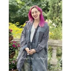 robe Alix Smock in Threadgood Magnolia Pearl - 1