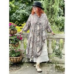robe Silke in Dolly Magnolia Pearl - 1