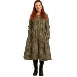 robe 55717 coton à Carreaux Ewa i Walla - 3