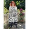robe 55715 coton Noir à fleurs Ewa i Walla - 4