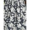 robe 55715 coton Noir à fleurs Ewa i Walla - 11