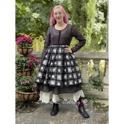 dress 55733 organdie patch