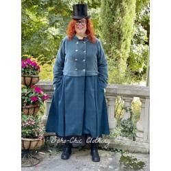 coat 66360 Petrol wool