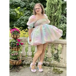dress Puff Rainbow