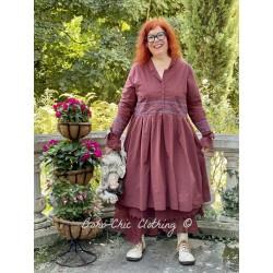 robe 55727 coton Maroon Ewa i Walla - 1