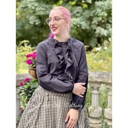 chemise 44794 coton Vintage black Ewa i Walla - 1