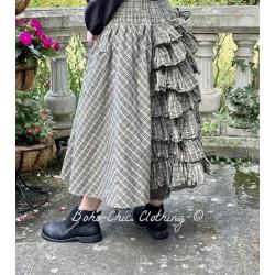 skirt / petticoat 22117 Checked cotton Ewa i Walla - 1
