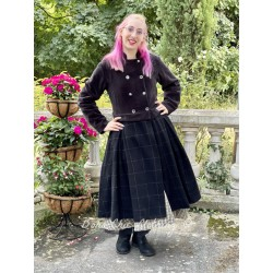 coat 66360 Black wool