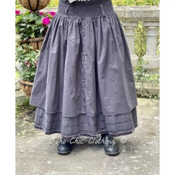 skirt / petticoat 22123 Vintage black shirt cotton