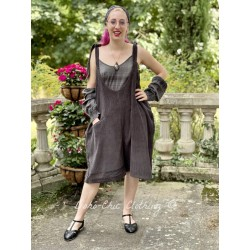 overalls LUC dark grey corduroy Les Ours - 1