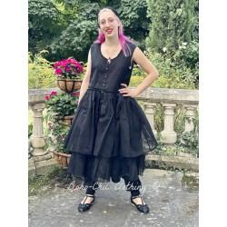 robe AZELICE organza noir