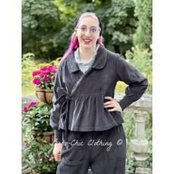 jacket MAYANOU dark grey corduroy Les Ours - 1