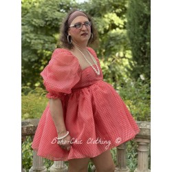 robe Puff Baby Gingham Selkie - 1