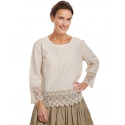blouse 44853 Jade shirt cotton
