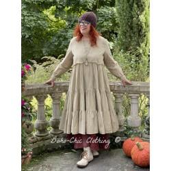 dress 55719 Striped cotton Ewa i Walla - 1