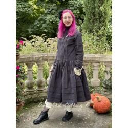 dress 55724 Vintage black shirt cotton Ewa i Walla - 1