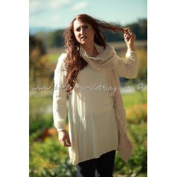 dress WELDONA sand beige