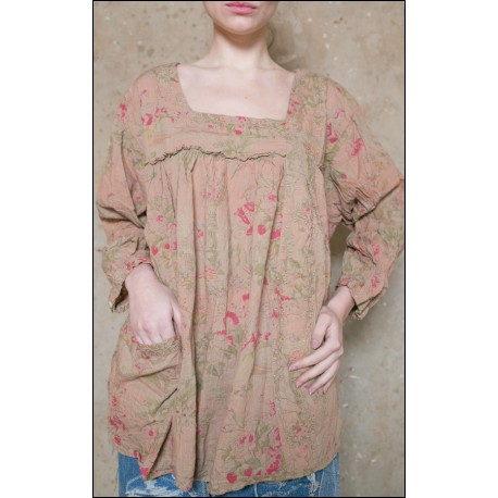 tunic Anastasia with flowers