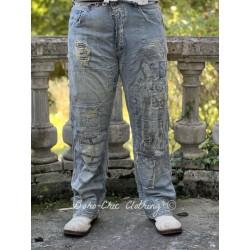 jean's Gaudalupe Ranchero in Washed Indigo