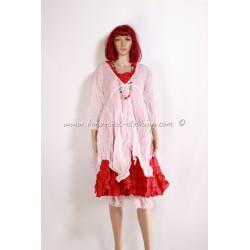 skirt CHICA dot red